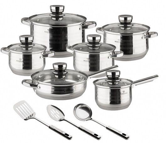 Набор посуды Blaumann 3136-BL (15 пр) - 1