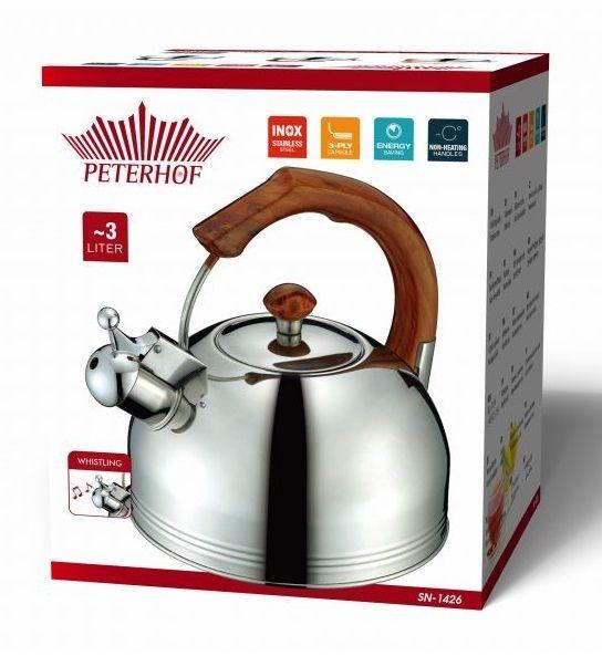 Чайник со свистком Peterhof Sanusi 1426sn (3 л) - 3