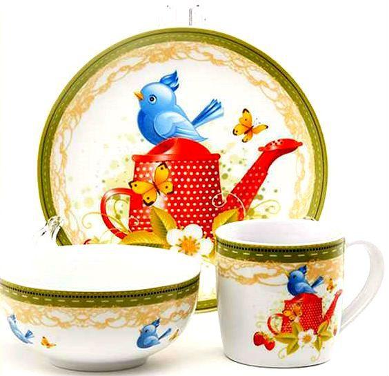 Набор детской посуды Maestro 10039-90 (3 пр) - 2