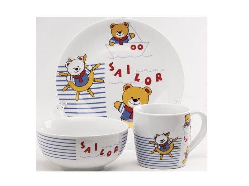 Набор детской посуды Maestro 10039-90 (3 пр) - 3