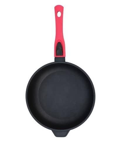 Сковорода Биол Titanal с крышкой и съемной ручкой 2406PC (24 см) - 1