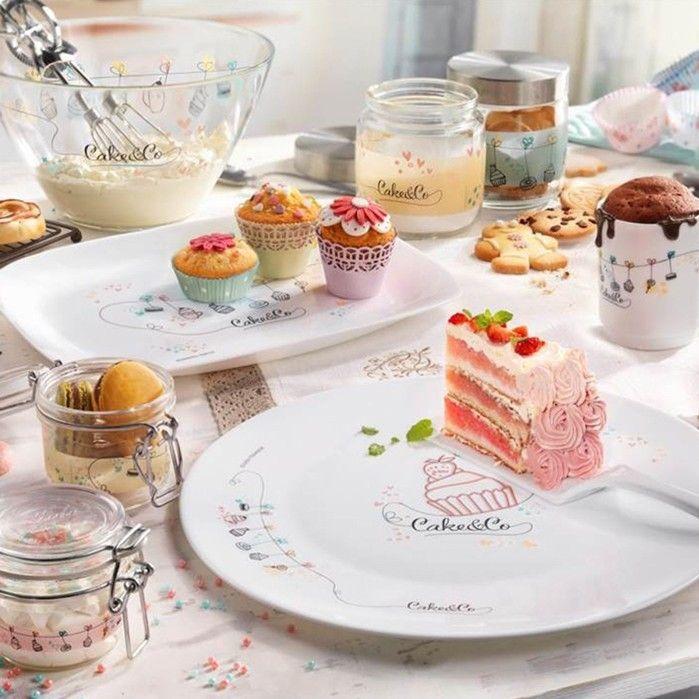 Блюдо Bormioli Rocco Cake&Co 419320EQ1321126 (33 см) - 1