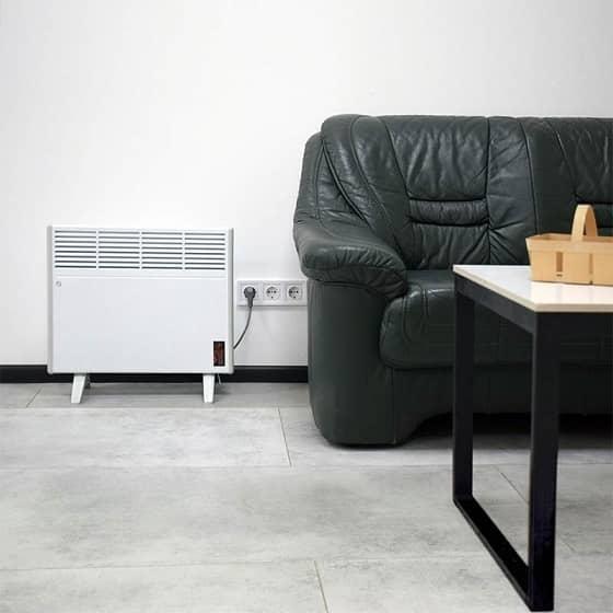 Электрический конвектор с терморегулятором EraFlyme 1000РW (1000 Вт) - 4