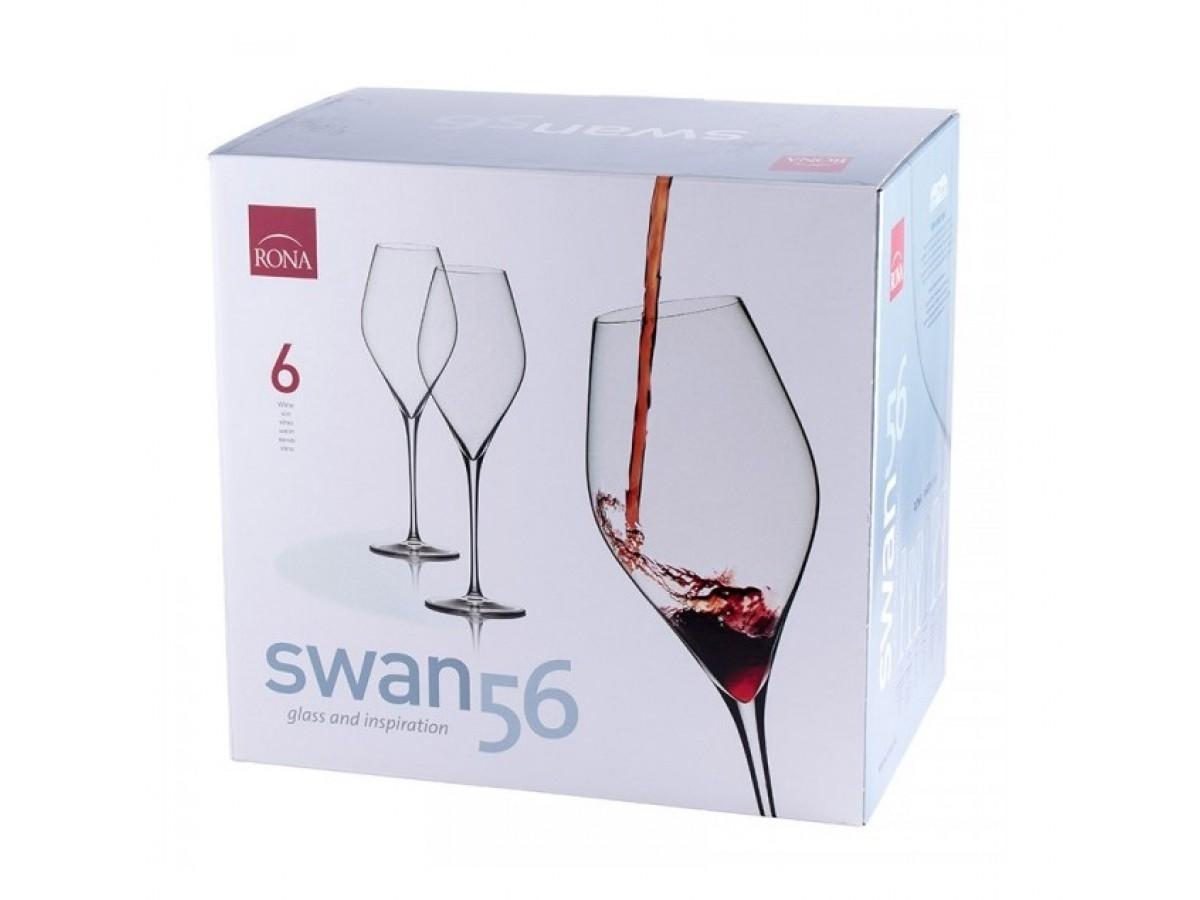 Набор бокалов для вина Rona Swan 6650/560 (560 мл, 6 шт) - 1