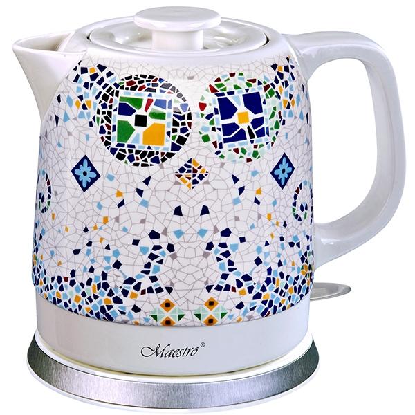 Электрический чайник керамика 068-MR (1,5 л) - 1