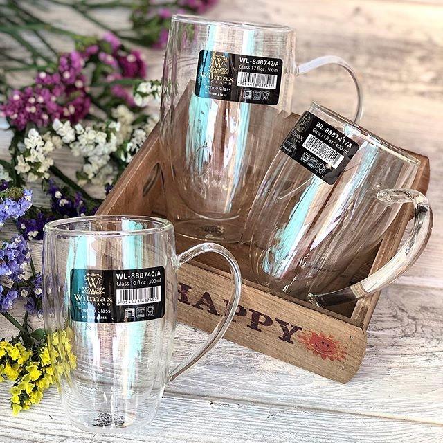 Чашка с двойным дном Wilmax Thermo 888738/A (200 мл) - 1