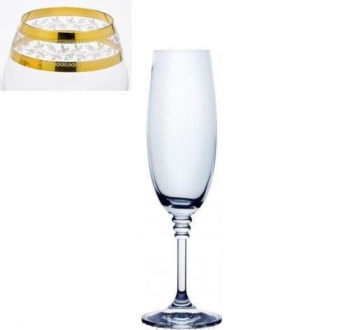 Бокалы для шампанского Bohemia Olivia 40346-43081-190 (190 мл, 6 шт) - 1