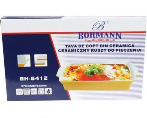 Форма для запекания керамическая Bohmann 6412-BH (37,5х22,0х6,5 см) - 1