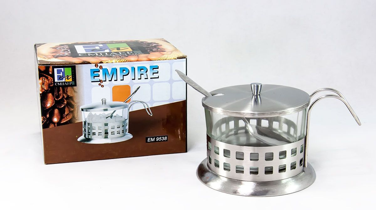 Сахарница Empire 9538-E (150 мл) - 1